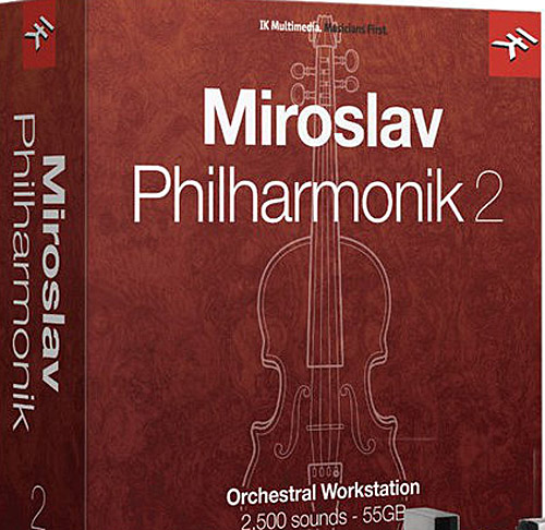 IKMultimedia Miroslav Philharmonik 2 Download Version WIN/MAC